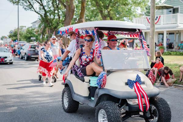 4th of July cart parade